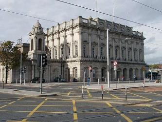 Exterior of Heuston Station