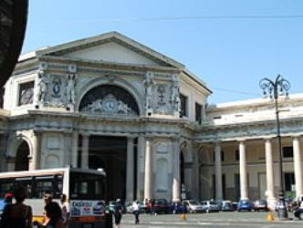 Genova Station Entrance