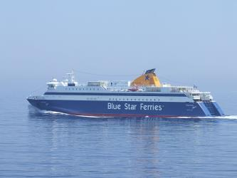 Exterior of the Blue Star Ferry