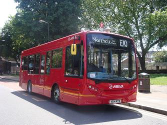 London single level bus