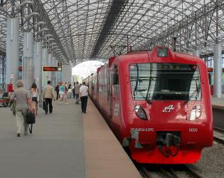 Aeroexpress to Moscow's Belorussky station