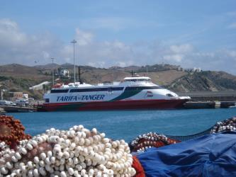 FRS Ferry at Tarifa Port