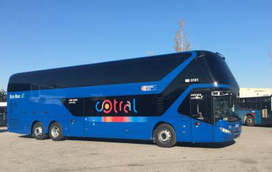 Cotral bus exterior view