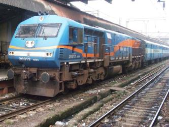Example of Indian train exterior