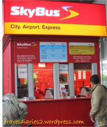Skybus ticket booth