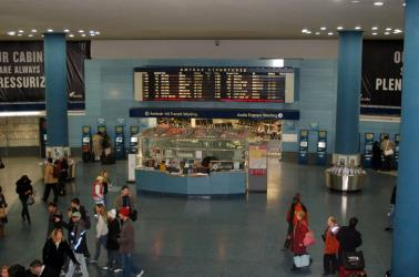 New York Penn Station Interior