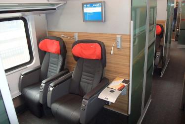 Business class in ÖBB
