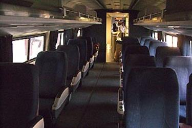 Northeast Regional interior