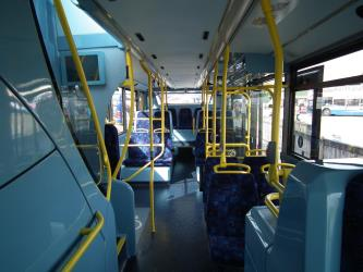 London Bus interior